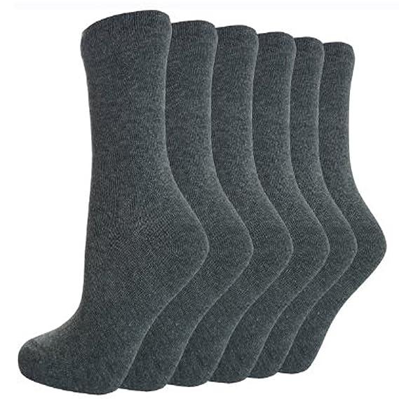 12 pares de calcetines por el tobillo para niños, algodón, ideal para el colegio: Amazon.es: Ropa y accesorios