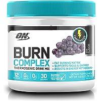 Optimum Nutrition Burn Complex Caffeinated Grape Thermogenic Powder, 150 Grams