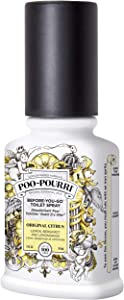 Poo-Pourri Before-You-Go Toilet Spray 2-Ounce Bottle, Original (PP-002)