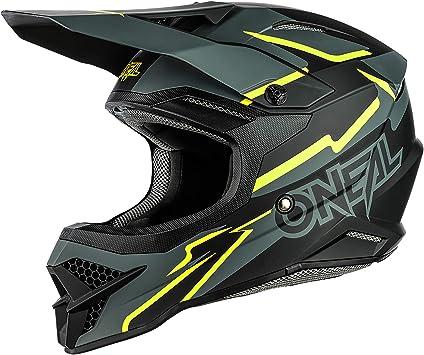 O Neal Motocross Helm Mx Enduro Abs Schale Sicherheitsnorm Ece 22 05 Lüftungsöffnungen Für Optimale Belüftung Kühlung 3srs Helmet Voltage Erwachsene Sport Freizeit