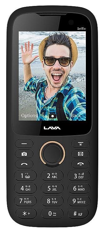 Lava ARC Selfie  Black Gold  Basic Mobiles