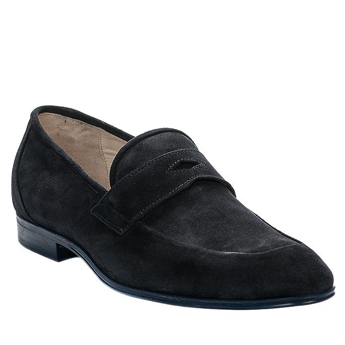 Mocassin Hommes Printemps Ete Casual détente Chaussures DTG-XZ083Noir43 Ox5Jv