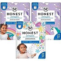 The Honest Company Training Pants | Club Box | Unicorns & Fairies, 2t3t, 78ct, 78 Count