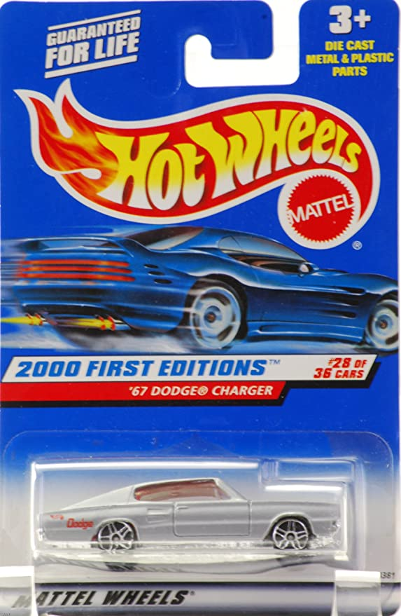 2000 Hot Wheels #72 First Edition Dodge Charger R//T 5 spk