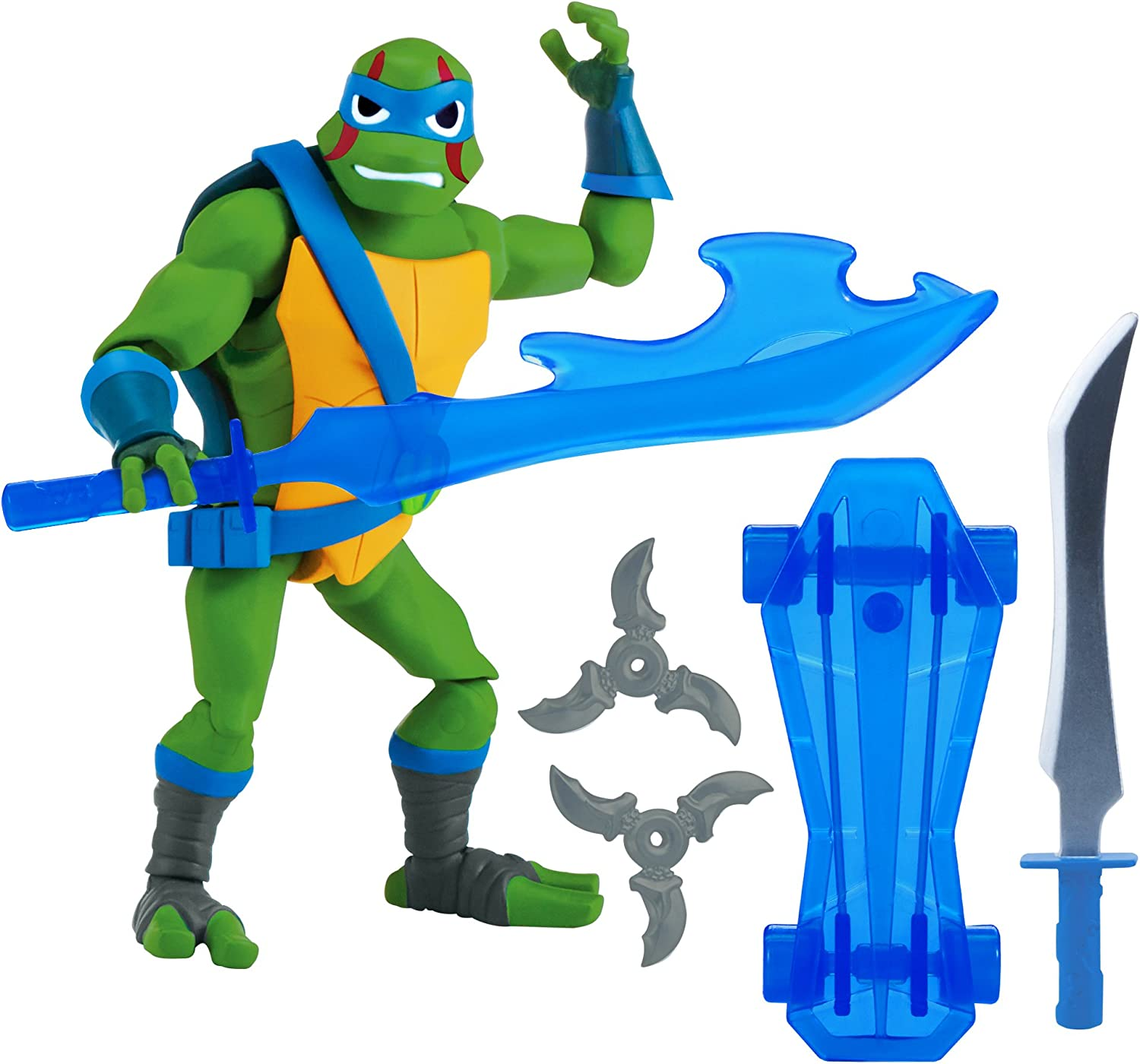 Rise of the Teenage Mutant Ninja Turtles Leonardo Action Figure