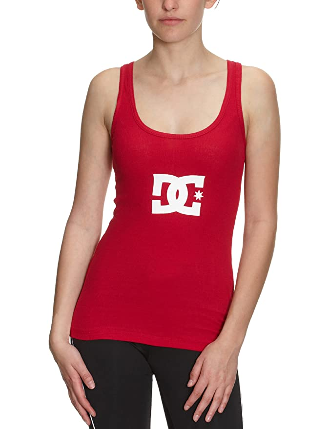 DC Shoes Tank Top Damen Rot (Persian Red)
