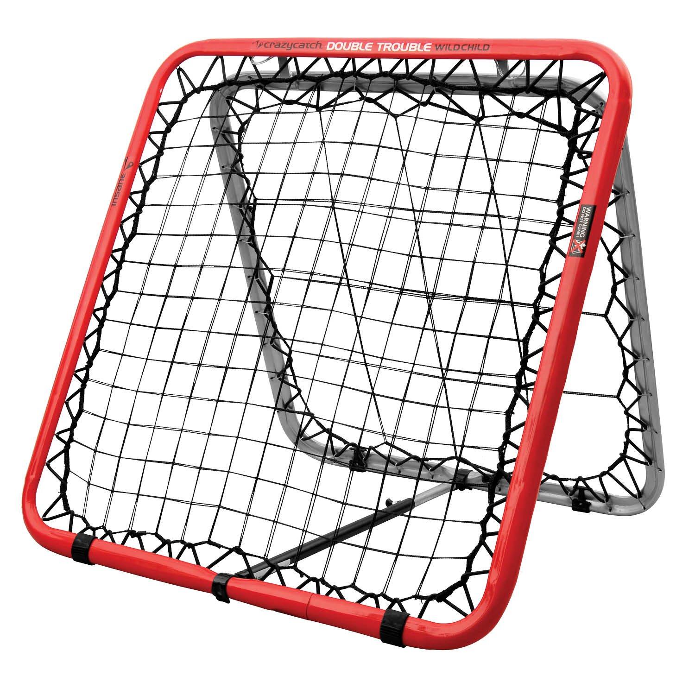 Crazy Catch Wildchild Classic Rebound Net - with 2 visionballs! (Yellow & Green) (93 x 93cm)