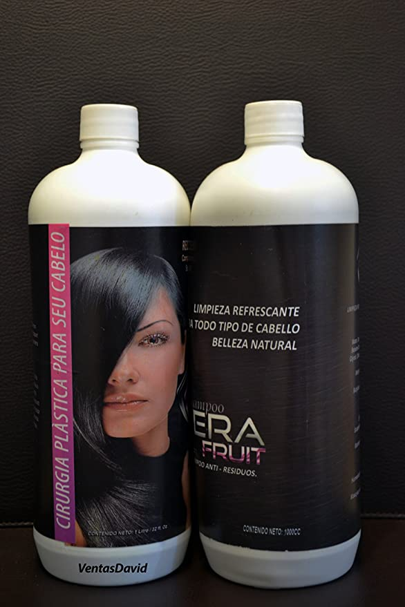 Amazon.com : Kerfruit Cirugia Capilar Brazilian Original + Shampoo 32 onzas Usa Seller Fast Shipping : Everything Else