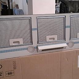 CATA GL 75 X Encastrada Acero inoxidable 700m³/h C - Campana (700 m³/h, Canalizado, D, B, B, 65 dB): Amazon.es: Grandes electrodomésticos