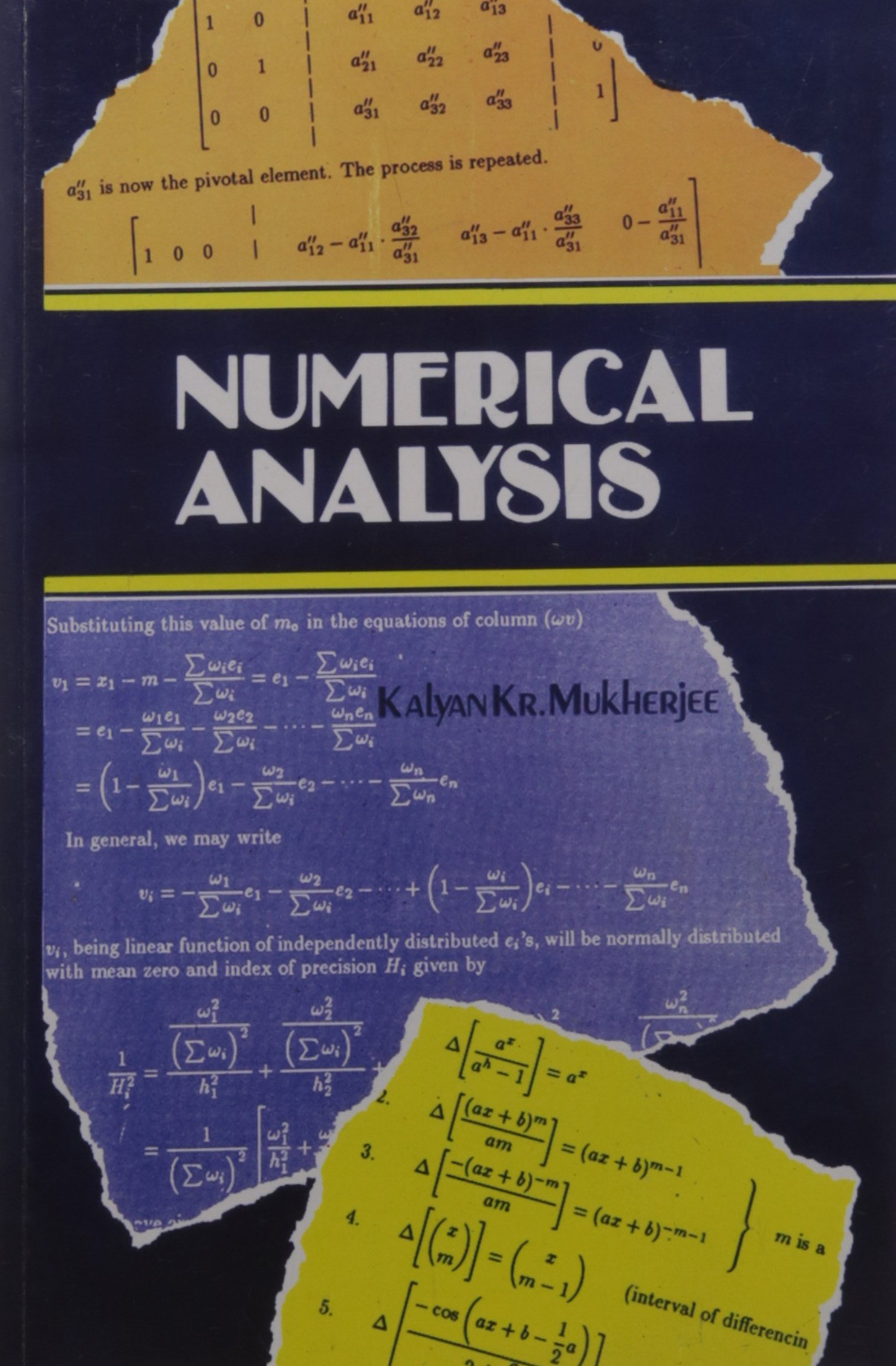 Numerical Analysis pdf epub
