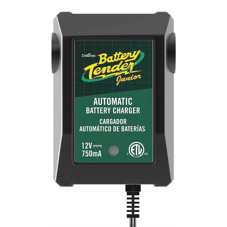 Deltran 6 Pack Battery Tender Jr Model # 021-0123 12 Volt 750 mA Snowmobile ATV 021-0123