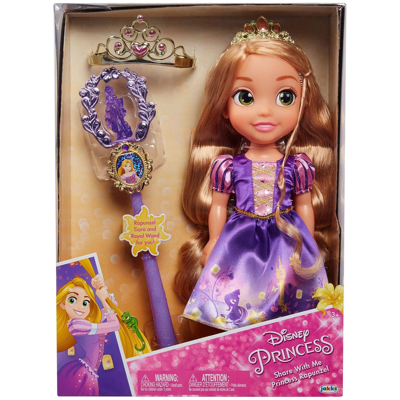 Mini Toddler Doll Rapunzel with Tiara Disney Princess 3