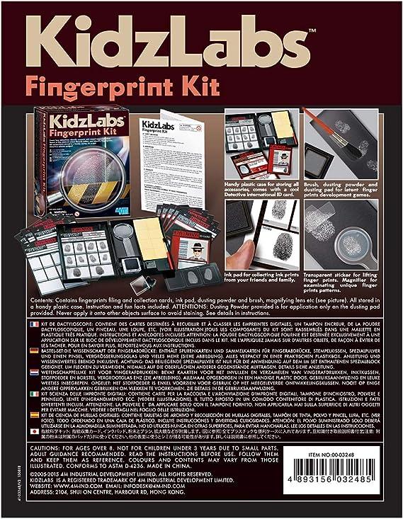 4M Kit Detective: Amazon.es: Juguetes y juegos