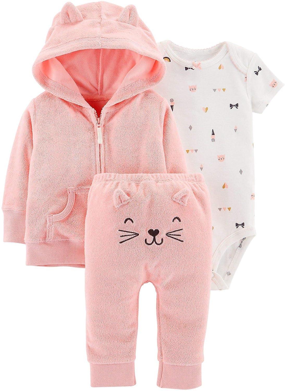 Carter's Pants PANTS 3 ベビーガールズ B07GD7LDGN Pink/Embroidered Pink/Embroidered Pants 3 Months 3 Months|Pink/Embroidered Pants, 米袋のマルタカ:deff294e --- itxassou.fr