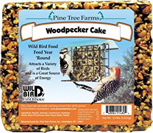 Woodpecker Seed Cake,8 pack,2.5lbs each