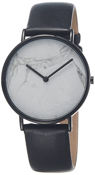 manufacturer marble fashion women watches gold dial show product leather watch black stone genuine
