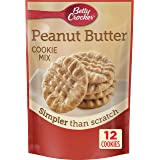 Betty Crocker Cookie Mix Peanut Butter Snack Size Makes 12 Cookies 7.2 oz Pouch