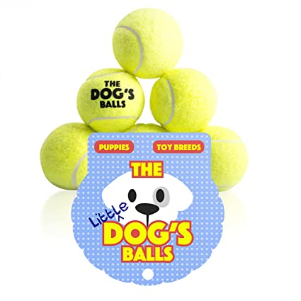 Pet Supplies The Little Dog S Balls 6 Small Yellow Tennis Balls