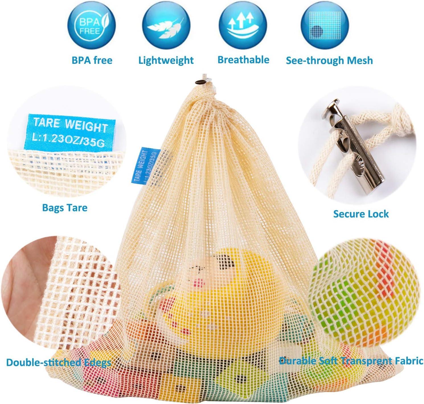 Zindoo Bolsa Reutilizable Algodon, Alternativa al plástico ...