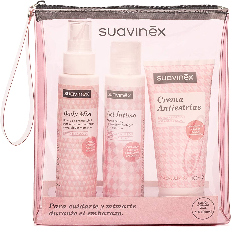 Suavinex 400875, Neceser para Embarazada, Rosa: Amazon.es: Bebé