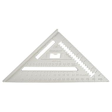 Johnson Level & Tool RAS-1 7-Inch Aluminum Rafter Angle Square w/Manual