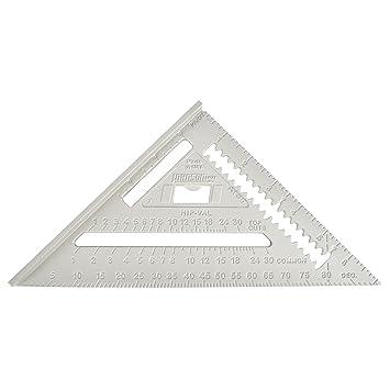 Häufig Johnson Level & Tool Dachsparren-Messwinkel, RAS-1, 7 Zoll-Skala KF39
