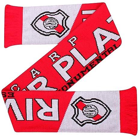 River Plate CA (Primera División) Bufanda de fútbol (100% acrílico)