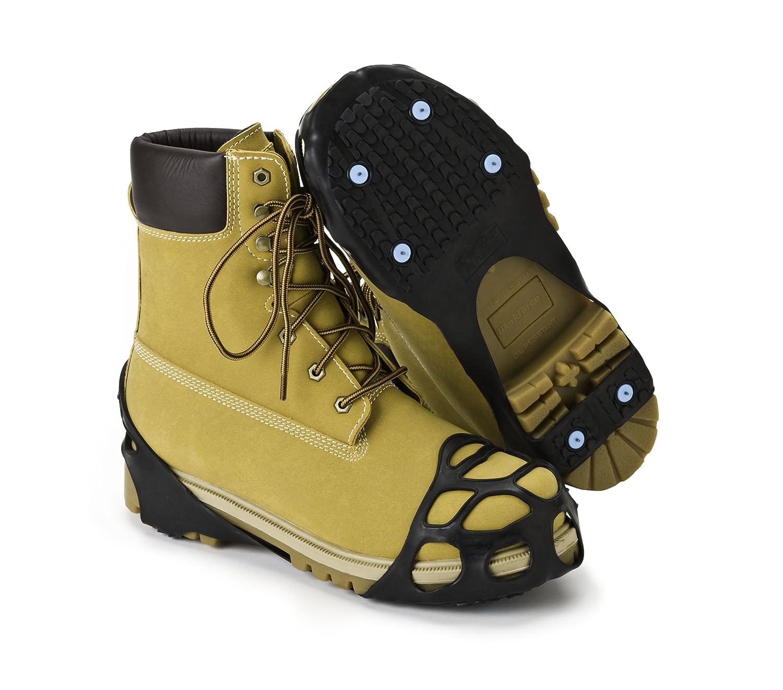 Crampons Neige et Glace multi-usage. Parfait pour bottes larges. (Taille Large Euro 44-47) Due North