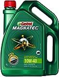 Castrol 3382517 MAGNATEC 10W-40 Petrol Engine Oil (4 L)