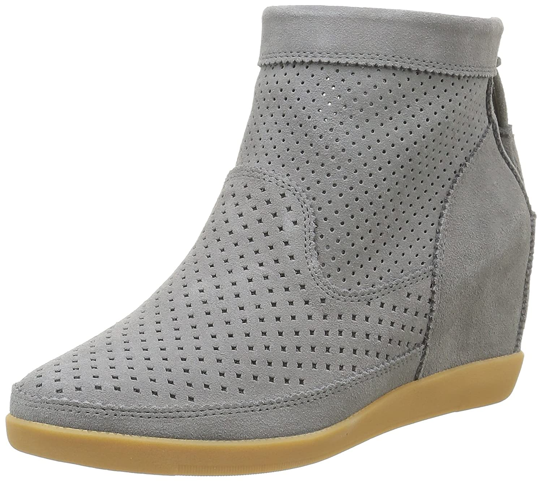 Shoe The Bear Emmy, Zapatillas Altas para Mujer 39 EU Gris (Grey)