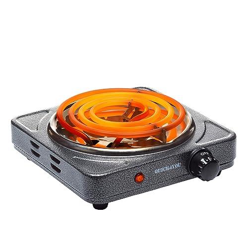 Quick4You Charcoal Burner 1500W Coal Burner Electric Charcoal Starter