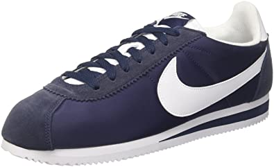 new arrivals 80ea6 ab361 Nike Men s Classic Cortez Nylon Running Shoes, Blue (Obsidian White 410),