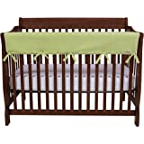 Trend Lab CribWrap Convertible Crib Long Rail Cover - Sage