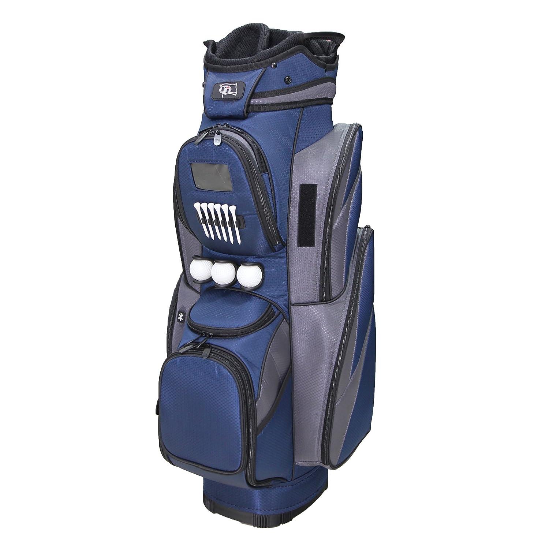 RJスポーツcr-18デラックスカートバッグ、ネイビー/グレー、9.5