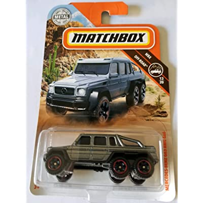 Matchbox 2020 MBX Off Road 13/20 - Mercedes-Benz G63 AMG 6x6: Toys & Games
