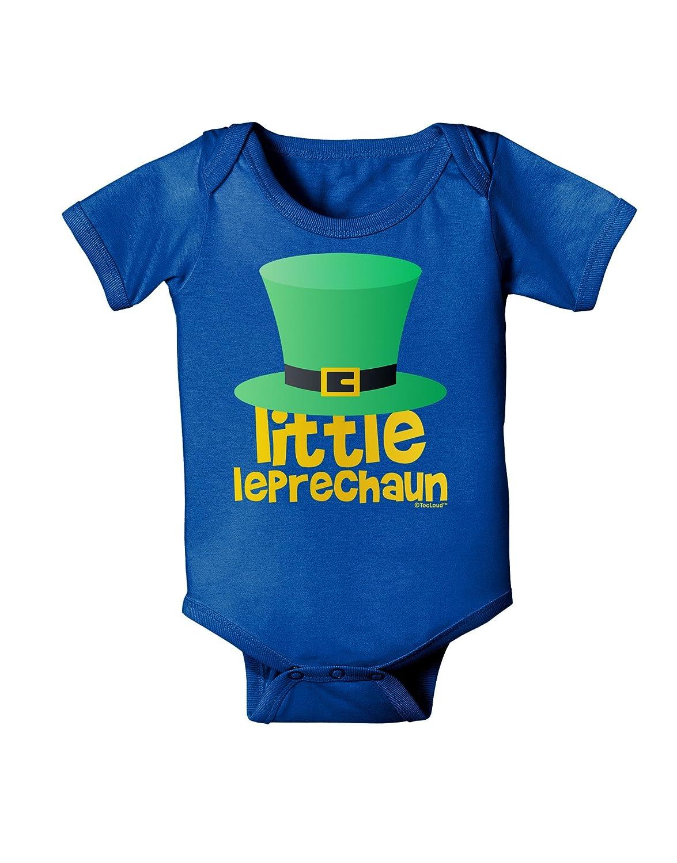 St TooLoud Little Leprechaun Patricks Day Baby Bodysuit Dark