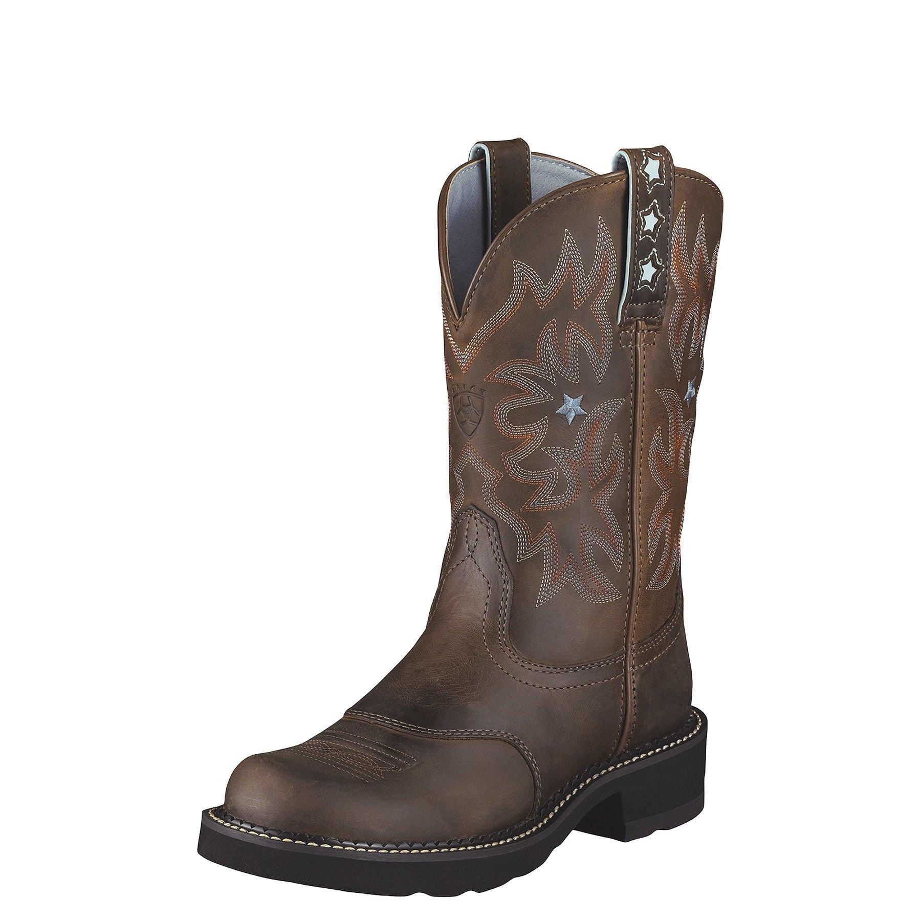 Ariat Women's Probaby Western Cowboy Boot, Driftwood Brown, 6.5 C US