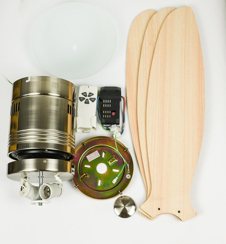 81w1Yku%2BRnL._SL1500_ Elegantes Deckenventilator Mit Fernbedienung Und Beleuchtung Dekorationen