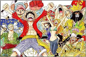 CoolChange Puzle de One Piece, 1000 Piezas, Tema: El Equipaje Sombreros de Paja: Amazon.es: Juguetes y juegos