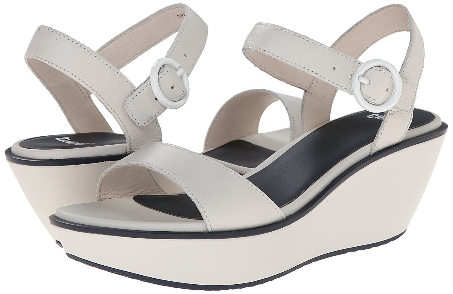 Amazon.com | Camper Women's Damas Strap Wedge Sandal | Platforms & Wedges