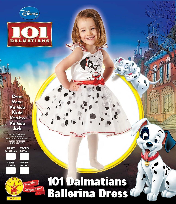 Rubies Disfraz Infantil de 101 Dalmatas de Bailarina (881213-S ...