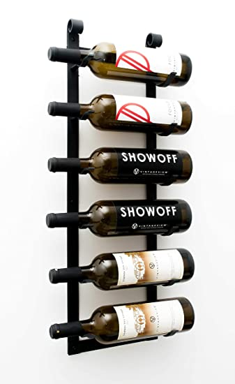 Amazoncom Vintage View Wall Series Le Rustique 6 Bottle Wall