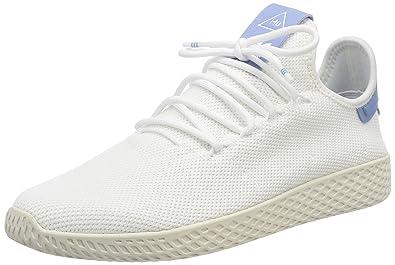 adidas Damen Pw Tennis Hu Gymnastikschuhe, Bianco