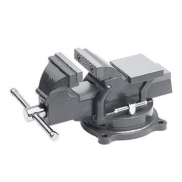 Meister Schraubstock 125 mm - Drehbar - Bis 125 mm Spannweite ...
