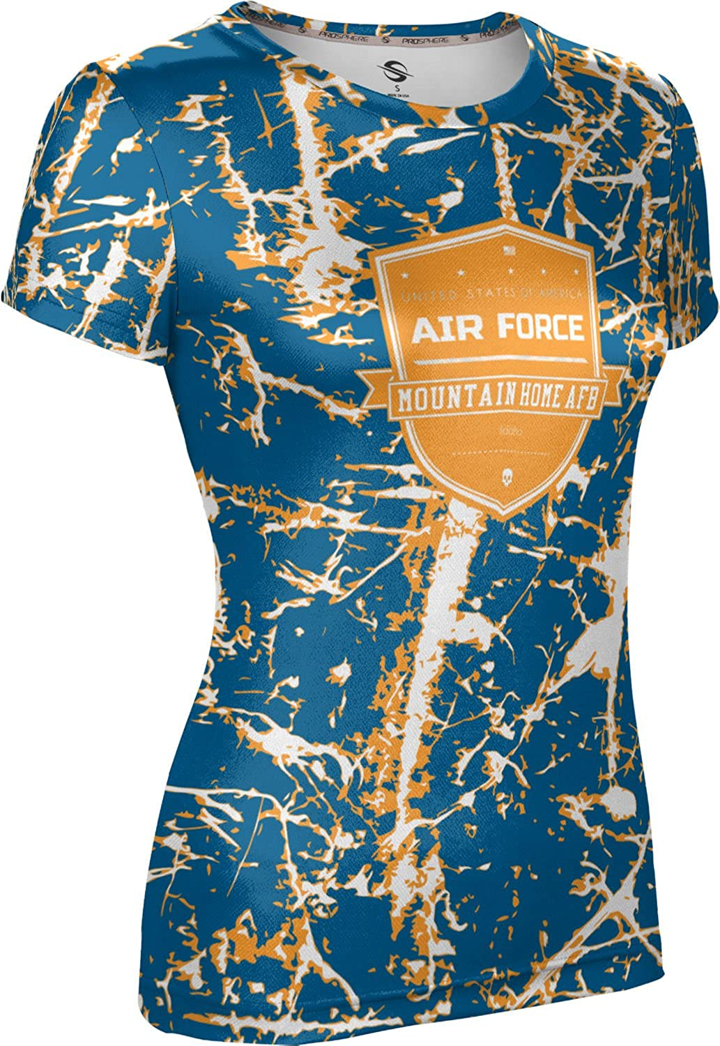 ProSphere Women's Mountain Home AFB Military Distressed Tech Tee