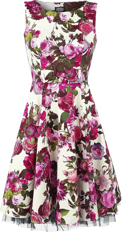 H&R London Audrey 50's Dress multicolour