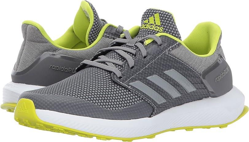 Adidas Performance Boys' rapidarun K amplia corriendo zapatos