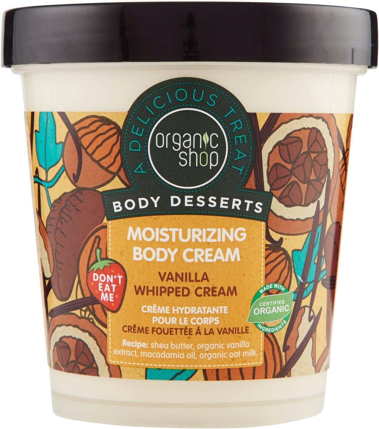 Organic Shop Batida de Vainilla Crema Corporal Hidratante - 450 ml ...