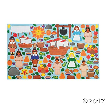 Amazoncom Design Your Own Giant Thanksgiving Sticker Scenes - Design your own stickers
