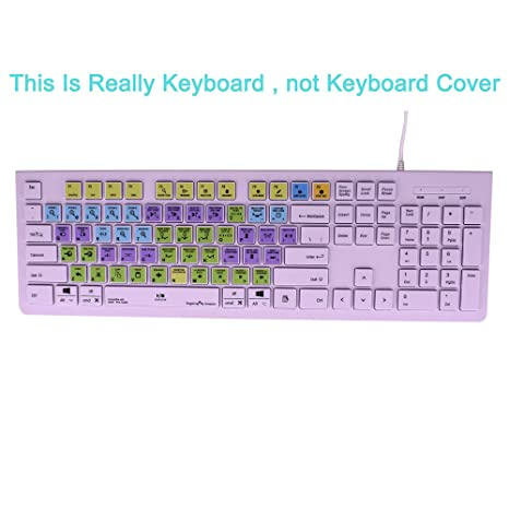 Dogxiong for Avid Pro Tools Edit Faster Shortcuts Hot Keys USB Keyboard  (Work for Mac OSX Mac iMac Pro Mini, MacBook Pro Air, PC Window Desktop